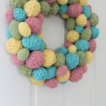 YARN EGG WREATH 8
