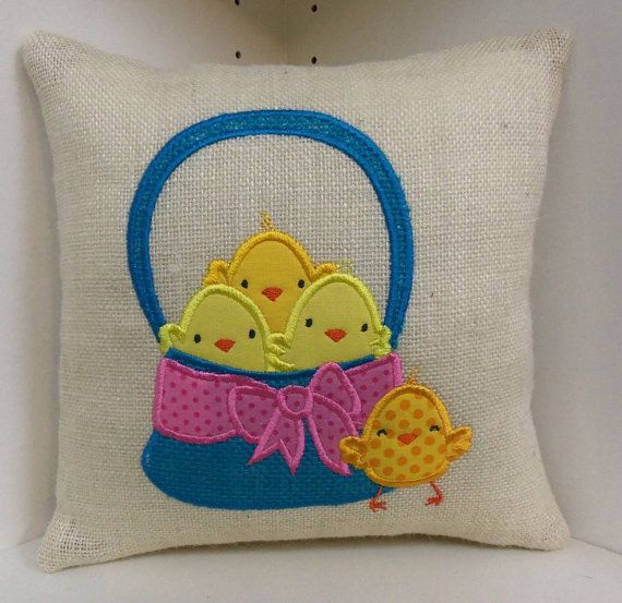 easter handmade pillow 11