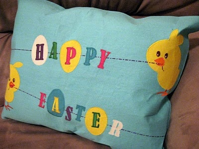 easter handmade pillow 12