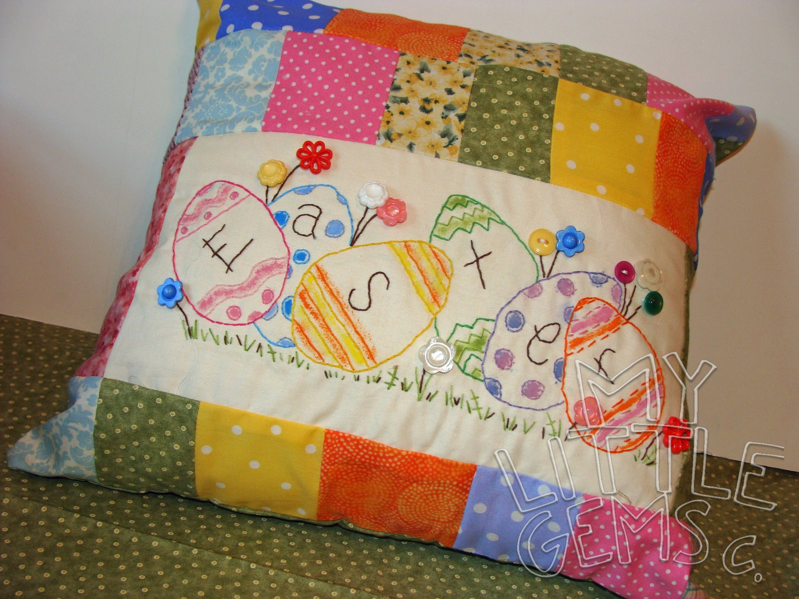 easter handmade pillow 19