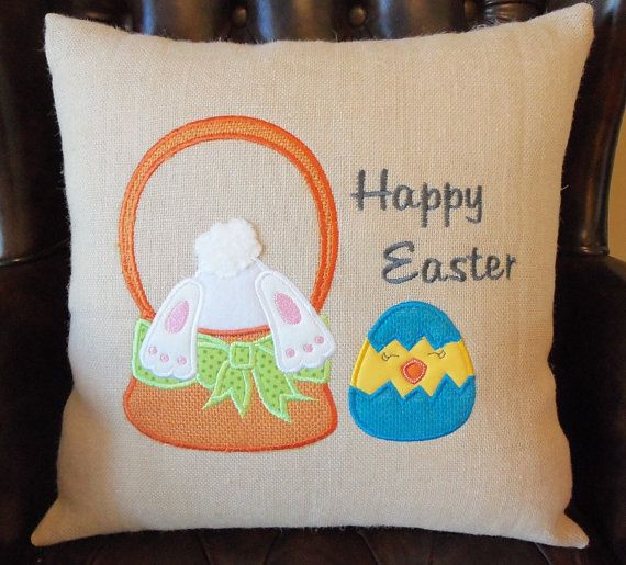 easter handmade pillow 20
