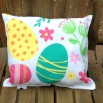 easter handmade pillow 3