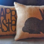 easter handmade pillow 5