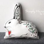 easter handmade pillow 6