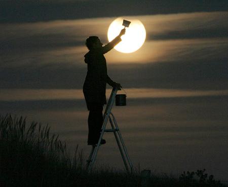 Creative Moon Photography 1