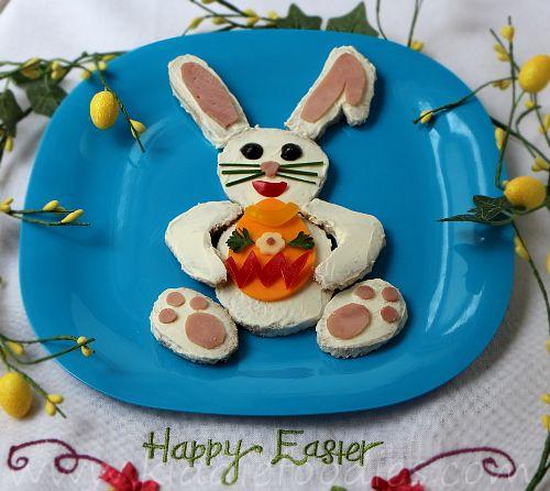 Easter Bunny sandwich 12