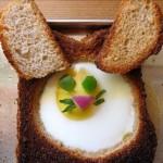Easter Bunny sandwich 13