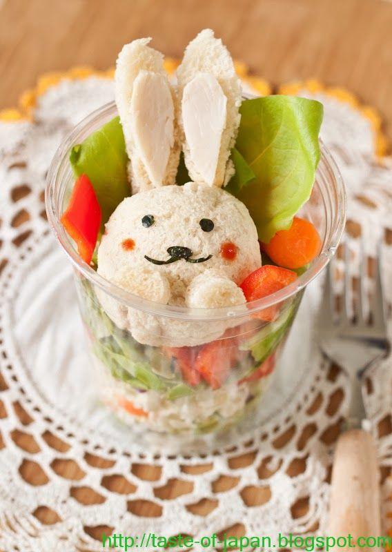 Easter Bunny sandwich 17