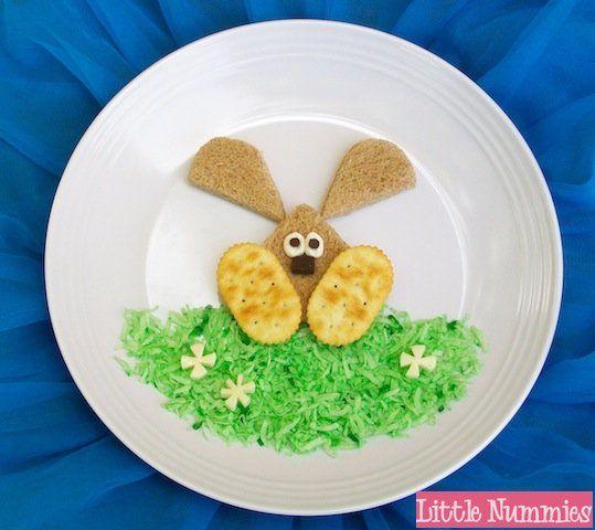 Easter Bunny sandwich 18