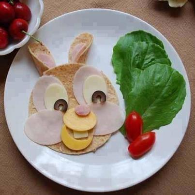 Easter Bunny sandwich 20