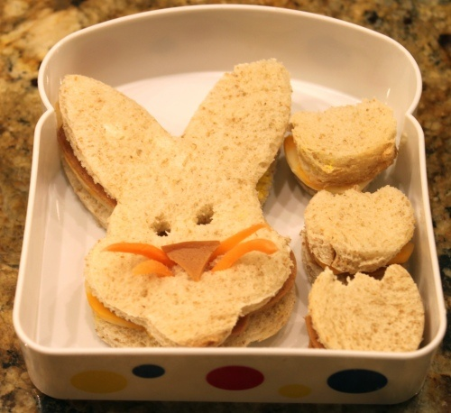 Easter Bunny sandwich 4