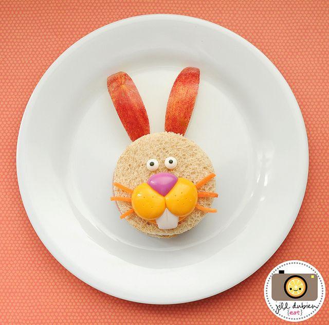 Easter Bunny sandwich 5