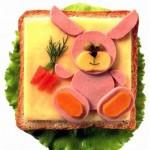 Easter Bunny sandwich 6