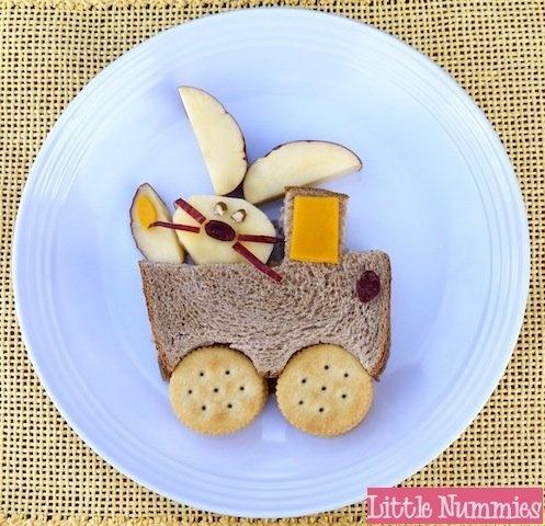 Easter Bunny sandwich 8