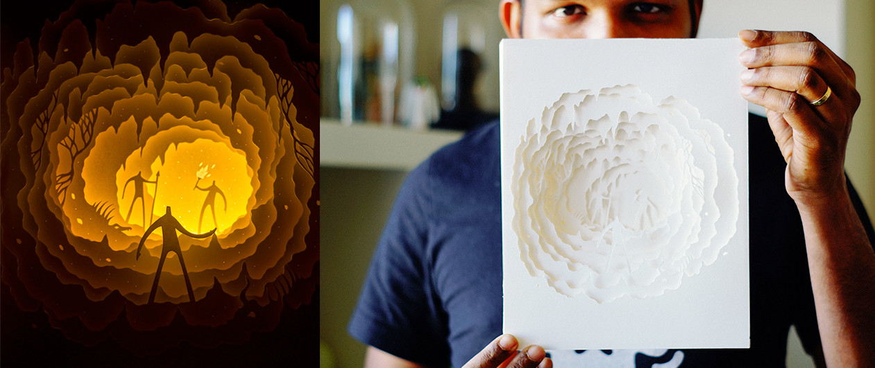 Hand-Cut Paper 10