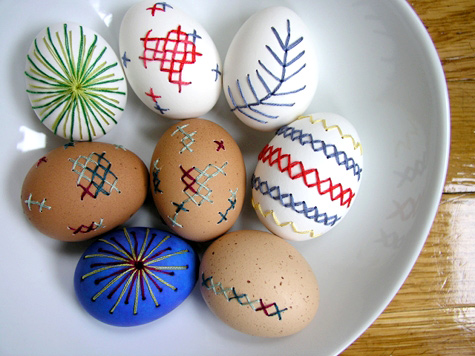 embroidery eggs 1