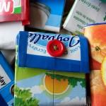 Еко портмоне от кутия прясно мляко