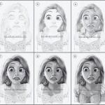 Работни рисунки от анимацията Frozen