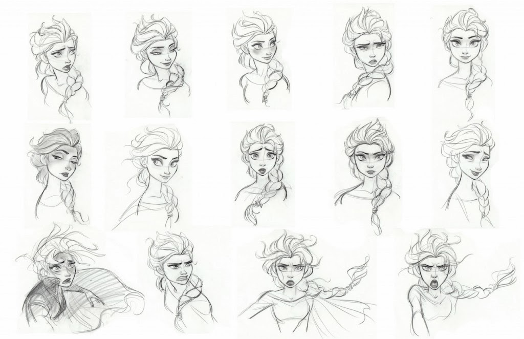 frozen drawings 2