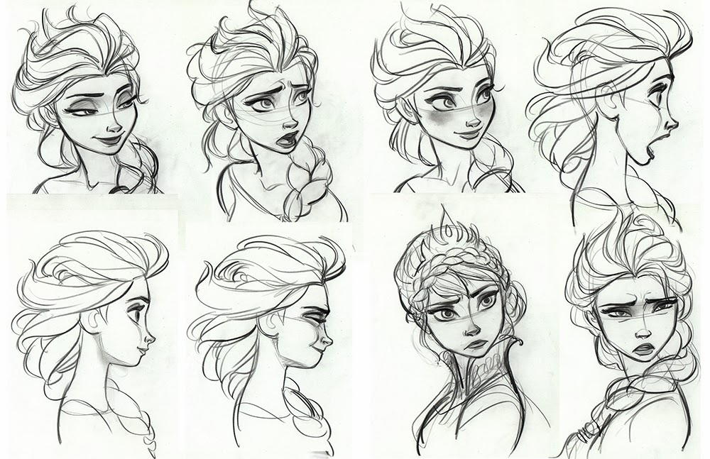frozen drawings 5