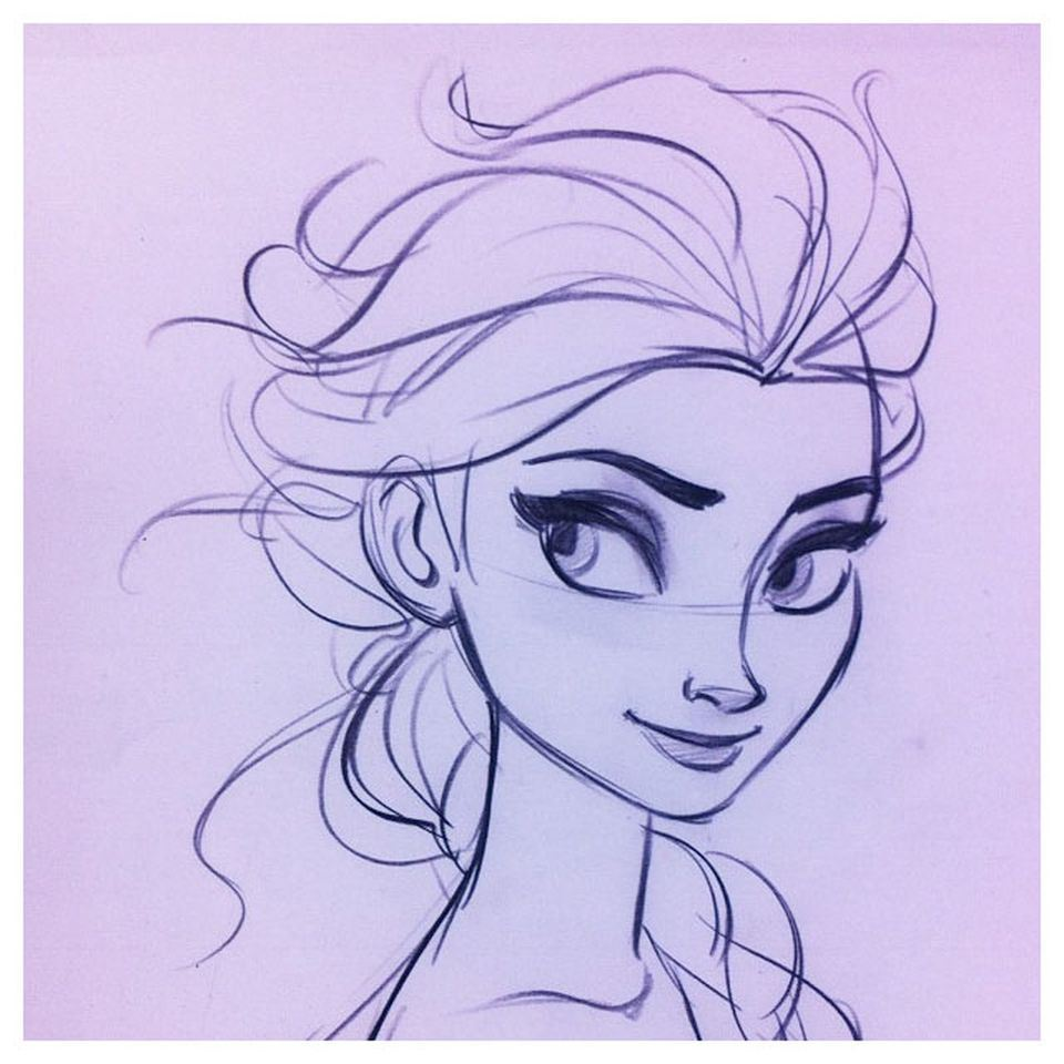 frozen drawings 7