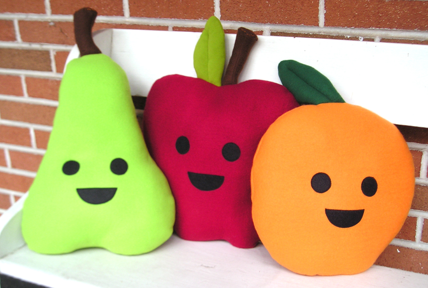 fruit pillow 1