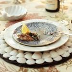 Декорация на чиния с миди