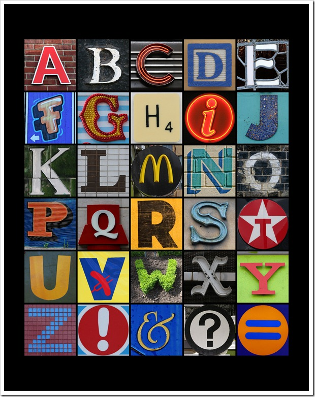 Alphabet Mosaic – 11×14 – Sprik Space[5]