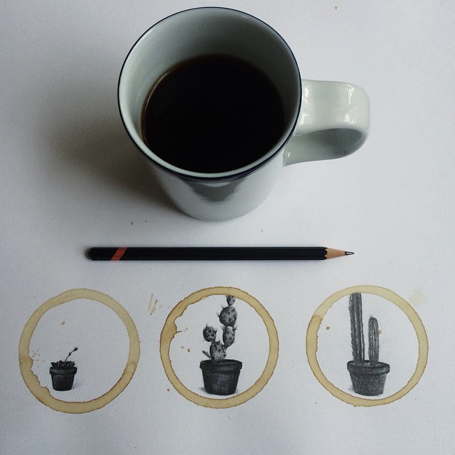 Pencil-Drawings-and-Coffee-Marks-151