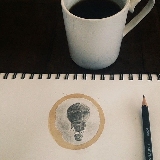 Pencil-Drawings-and-Coffee-Marks-71