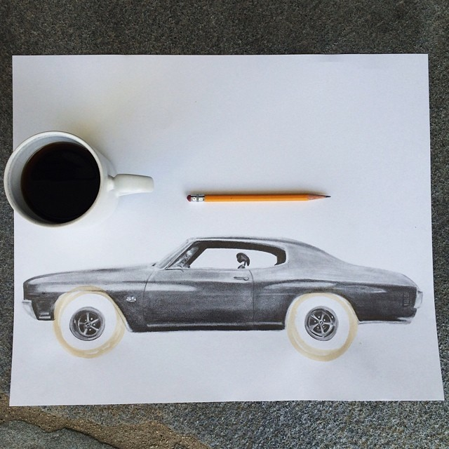 Pencil-Drawings-and-Coffee-Marks-91