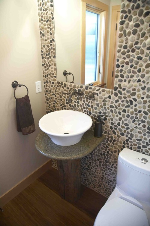 River-Rock-Wall-Creative-Bathroom-Decorations