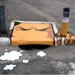 Тротоарно изкуство