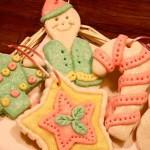 Коледни играчки от солено тесто