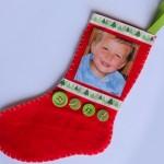 Поименно коледно чорапче