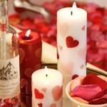 Направи си сам романтични свещи за свети Валентин
