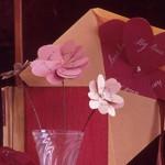 Хартиени цветя за свети Валентин