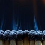 Огън и пушек