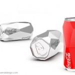 Модерен дизайн за кен на Coca-Cola