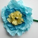 Лесни хартиени цветя за деца