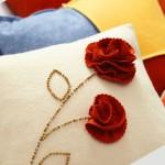 Цвете на възглавницата