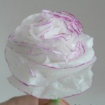 Хартиени цветя – карамфили