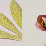 Хартиени цветя – лалета 2