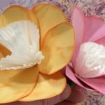 Хартиени цветя – анемона