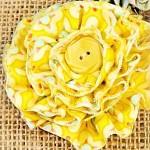 Парцалено памучно цвете