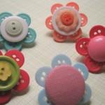 Цвете от копчета