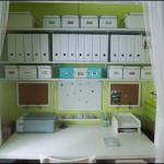 Малък офис в килера у дома