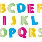 Векторни детски букви