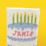 Калъфка за стол за рожден ден