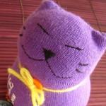 Коте от чорап